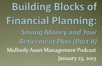 Financial Planning: Saving and Your Retirement Plan