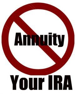 An Annuity inside an IRA is a Bad Idea