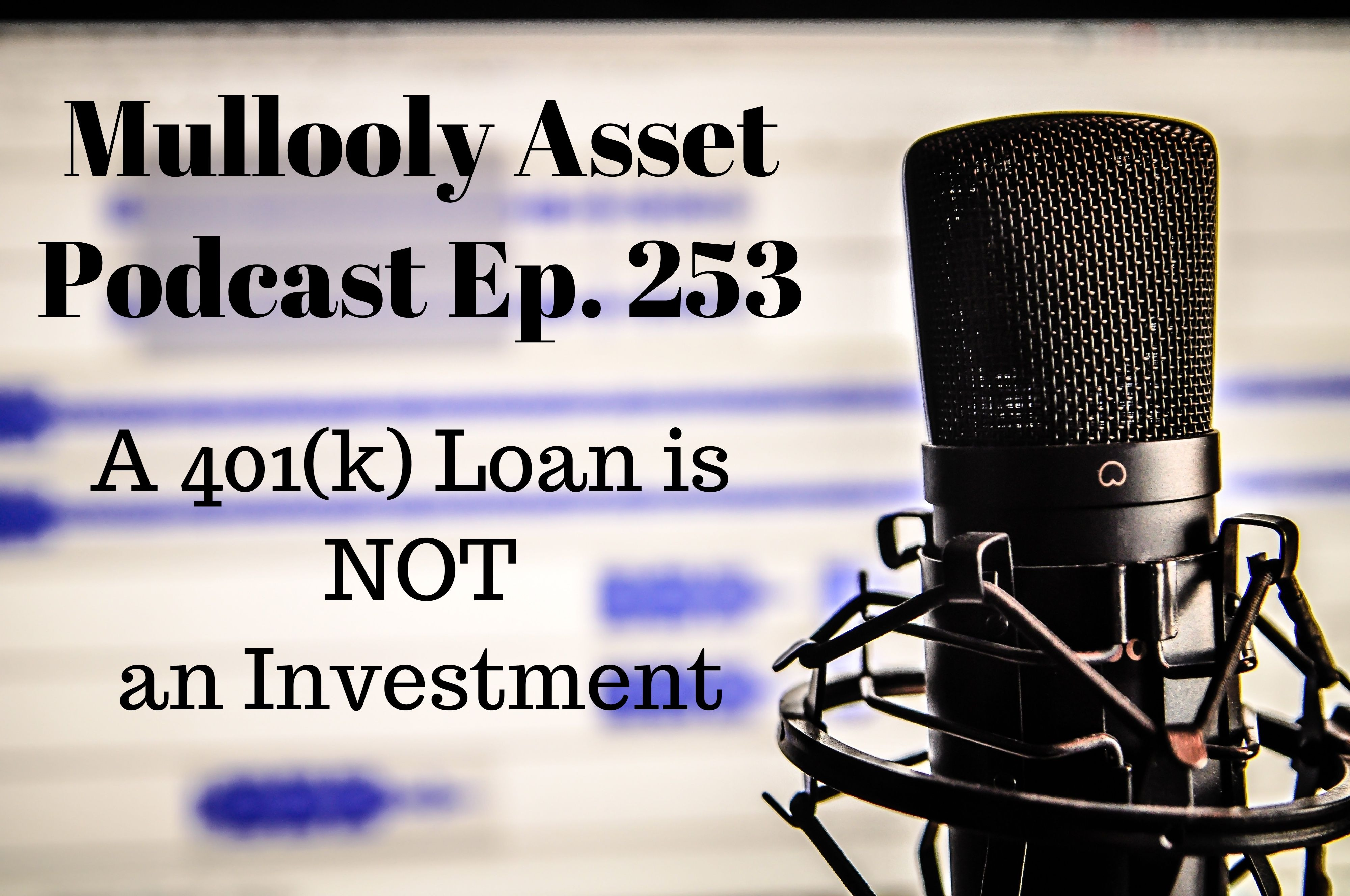 A 401(k) Loan is Not an Investment