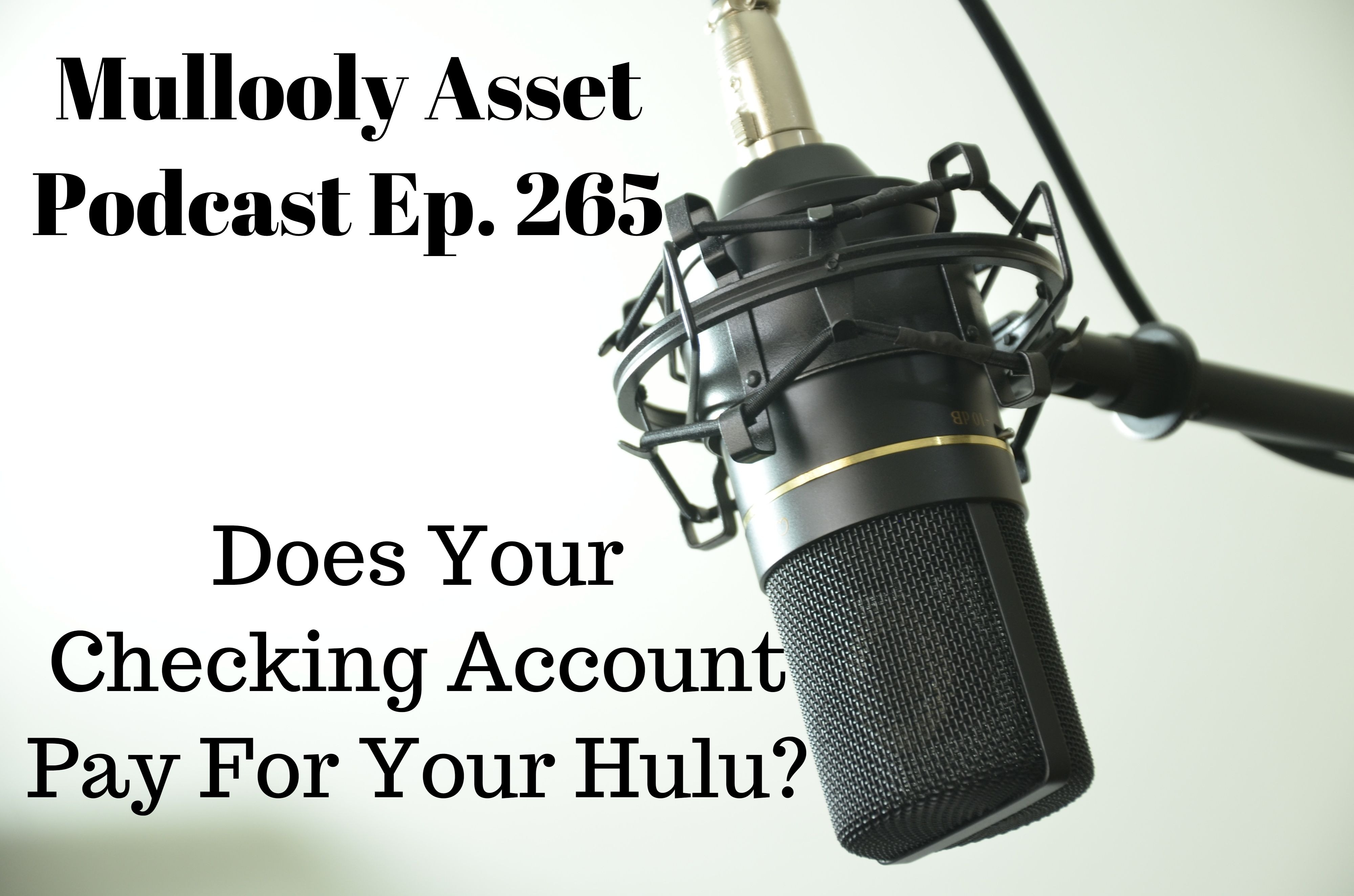 Does Your Checking Account Pay For Your Hulu?