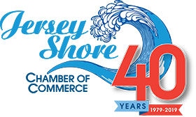 jersey shore chamber of commerce logo 40th 1
