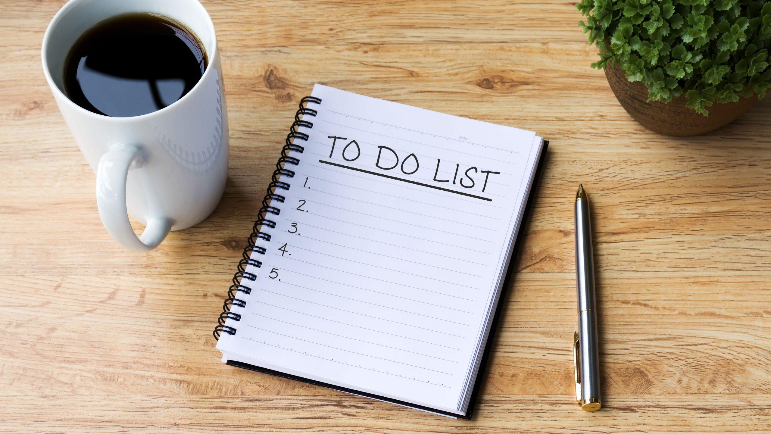 tax season to do list